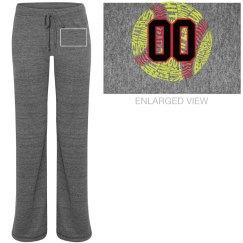 Baseball Mom Pants with #
