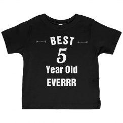 Best 5 year old everrr