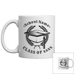Personalized Class Of 2016 Mug