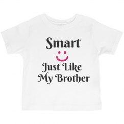 Smart like brother
