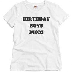Birthday boys mom