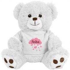 Asha valentine Bear