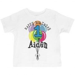 1 year old! Aiden