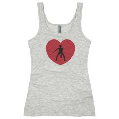 Heart Cross Fit Tank