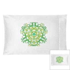 Celtic Embroidery Pillow