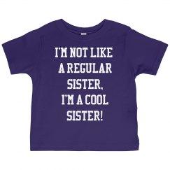 I'm a cool sister