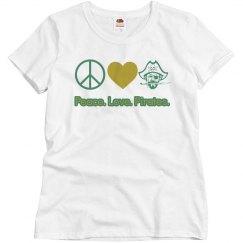 Peace. Love. Pirates
