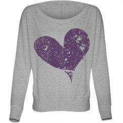 Lovely heart shirt!