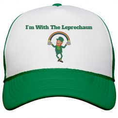 i'm with the leprechaun