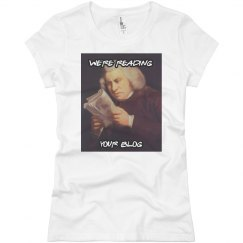 We're Reading Your Blog