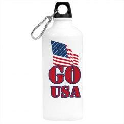 Go USA Water Bottle