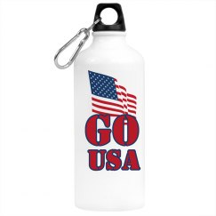 Go USA Water Bottle