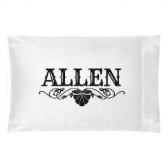 ALLEN. Pillow case