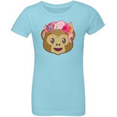 Monkey Floral Crown Emoji