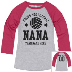 Proud Volleyball Nana