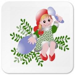 Christmas Fairy Coaster