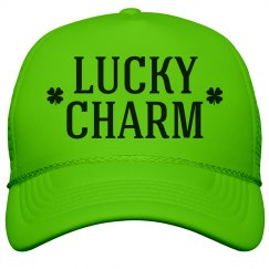 Shamrocks Neon Lucky Charm