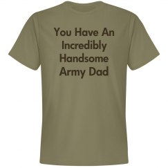Incredibly handsome army dad