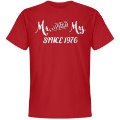 Mr & Mrs since 1976