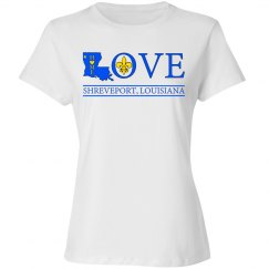 Love Home Shreveport Louisiana, Blue