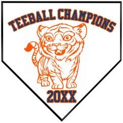 Tiger Teeball Champions