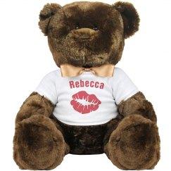 Kiss Valentines Bear Gift