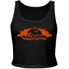 HalloweenMoon&Bats