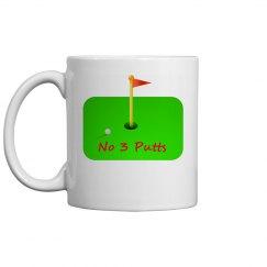 Golfer - Ceramic 11oz Coffee Mug