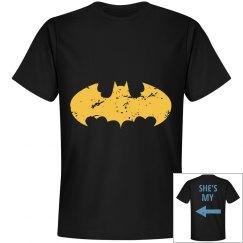 His bat/world
