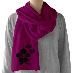 Flower scarf 1