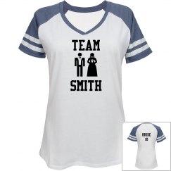 Team Smith Bride Tshirt