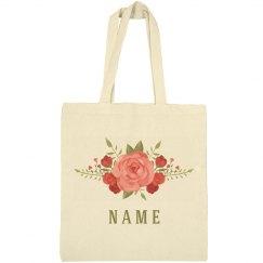 Custom Floral Rose Spring Flowers