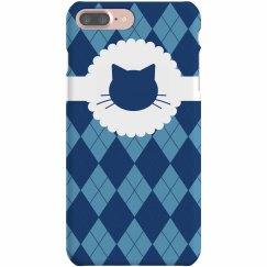 Argyle Cat iPhone Case