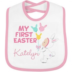 Baby Girl's First Easter Pink