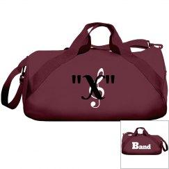 Monogram your band bag