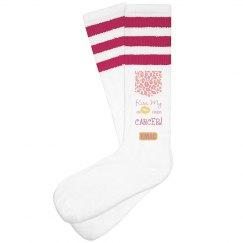 Ladies KMAC CANCER Socks
