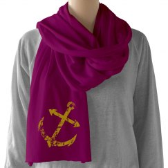 anchor scarf