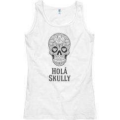 Hola Skully B & W Tank