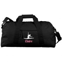 Custom duffel dance bag