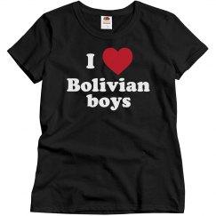 I love Bolivian boys!