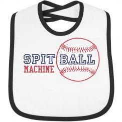 Spitball Machine Bib