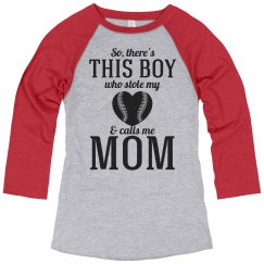 Cute Baseball Mom Pride Jersey