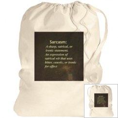 Sarcasm bag