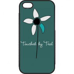 Touched by Teal iPhone
