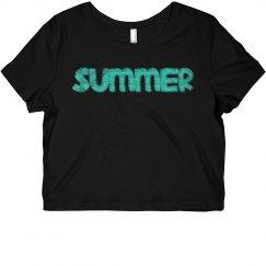 Aztec Summer Crop Top