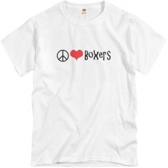 Peace, Love and Boxers