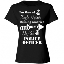 Single Mother of Police Officer