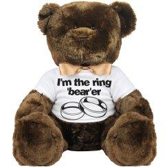 """Ring """"Bear""""er Teddy Bear"""