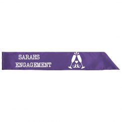 Engagement Party Sash
