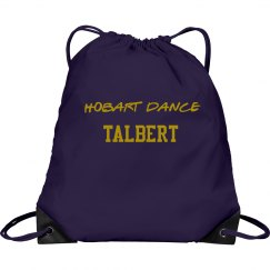 purple dance bag